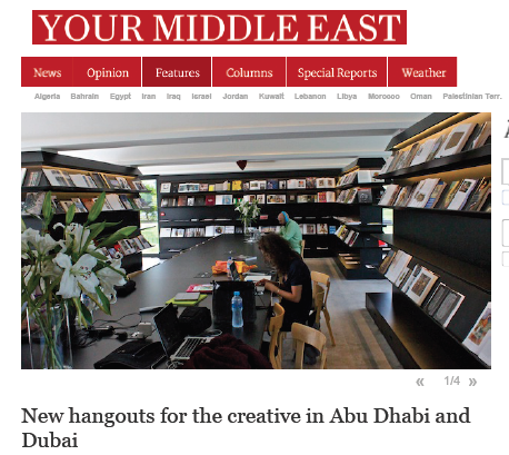 A feature about how public and private initiatives are creating new reading habits in the UAE and how such moves are linked to Government strategies to leverage the arts and creative industries for economic diversification. Click image to open PDF.