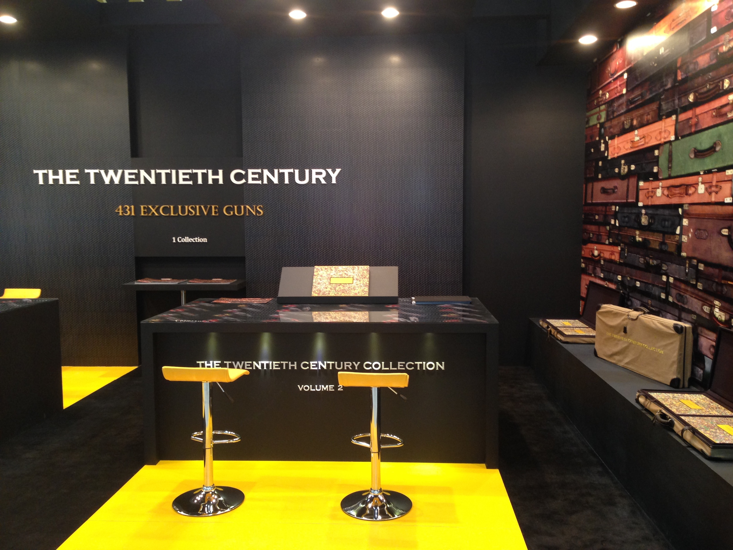 The Twentieth Century gun collection at Adihex 2014.
