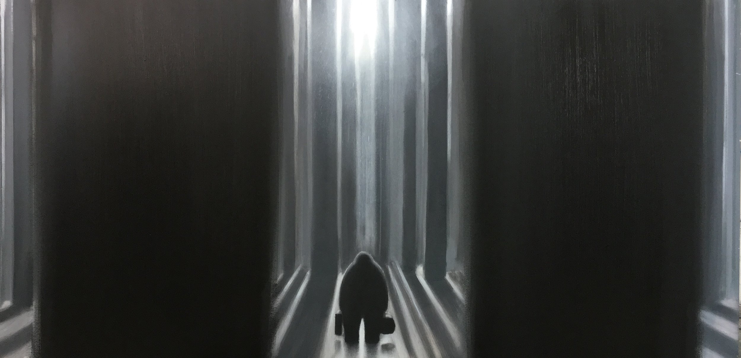 Tales From Nowhere - The Weight Of Shadows - Painting No.1