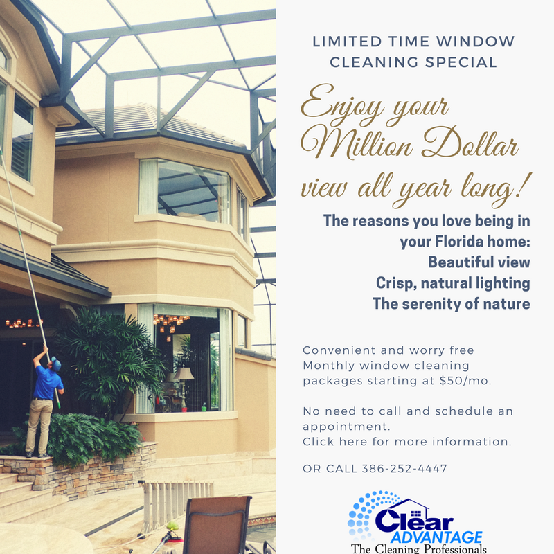 Learn more about our convenient, year round  window cleaning packages