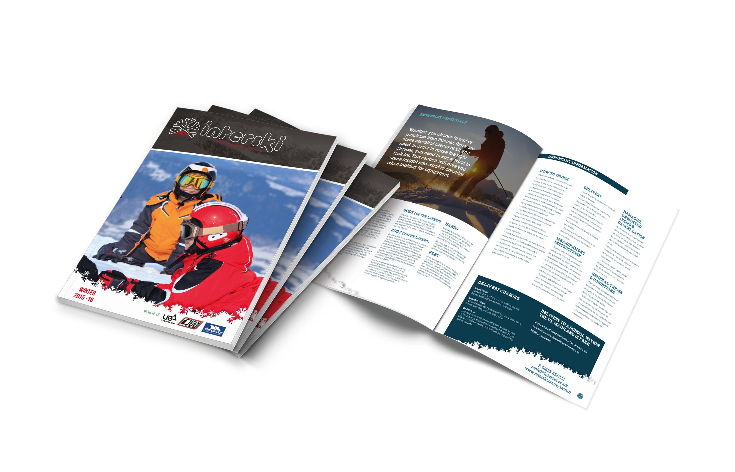 A4 Brochure Design