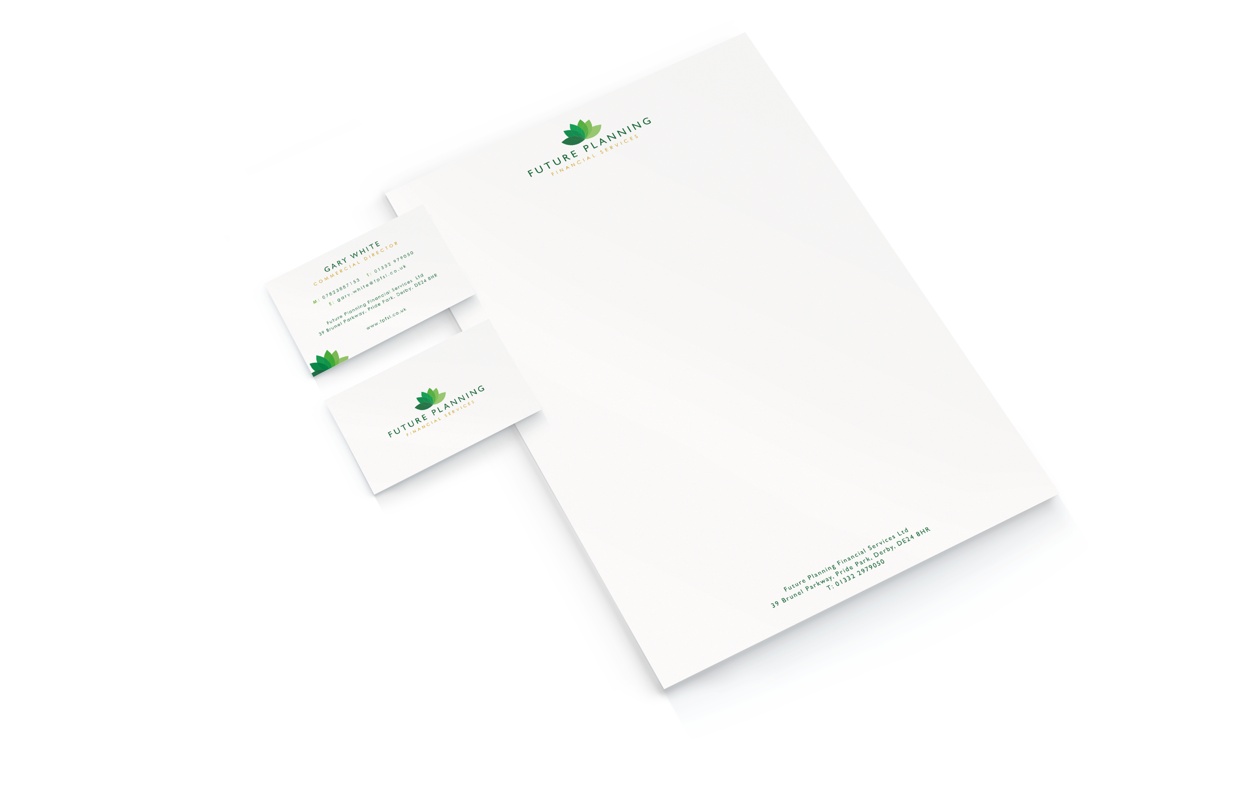 Letterhead and Business Card Design