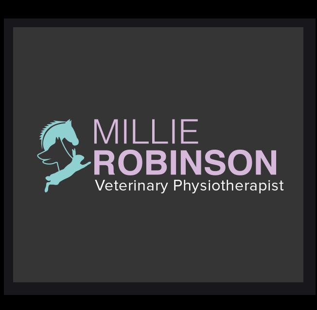 Millie Robinson Veterinary Physiotherapist Logo Design