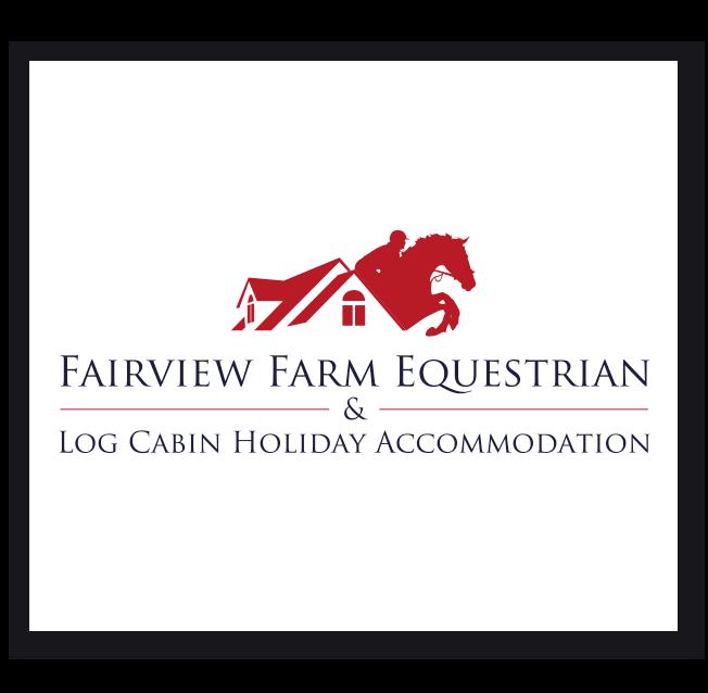 Fairview Farm Equestrian & Log Cabin Holiday Accommodation Logo Design