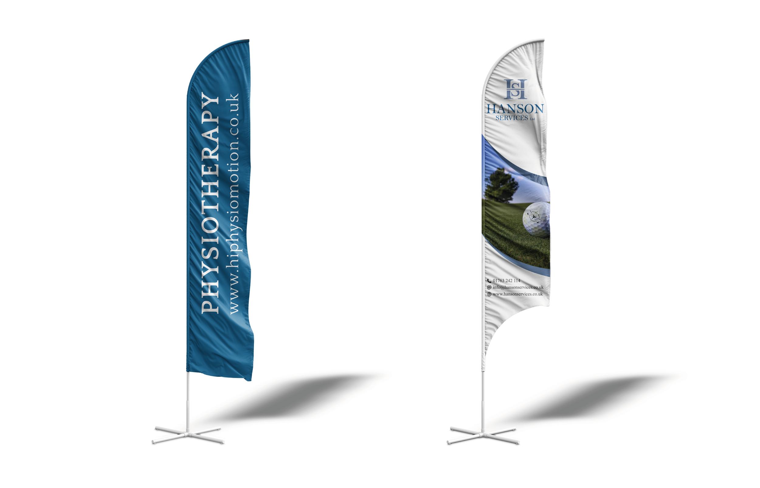 Feather Flag Design