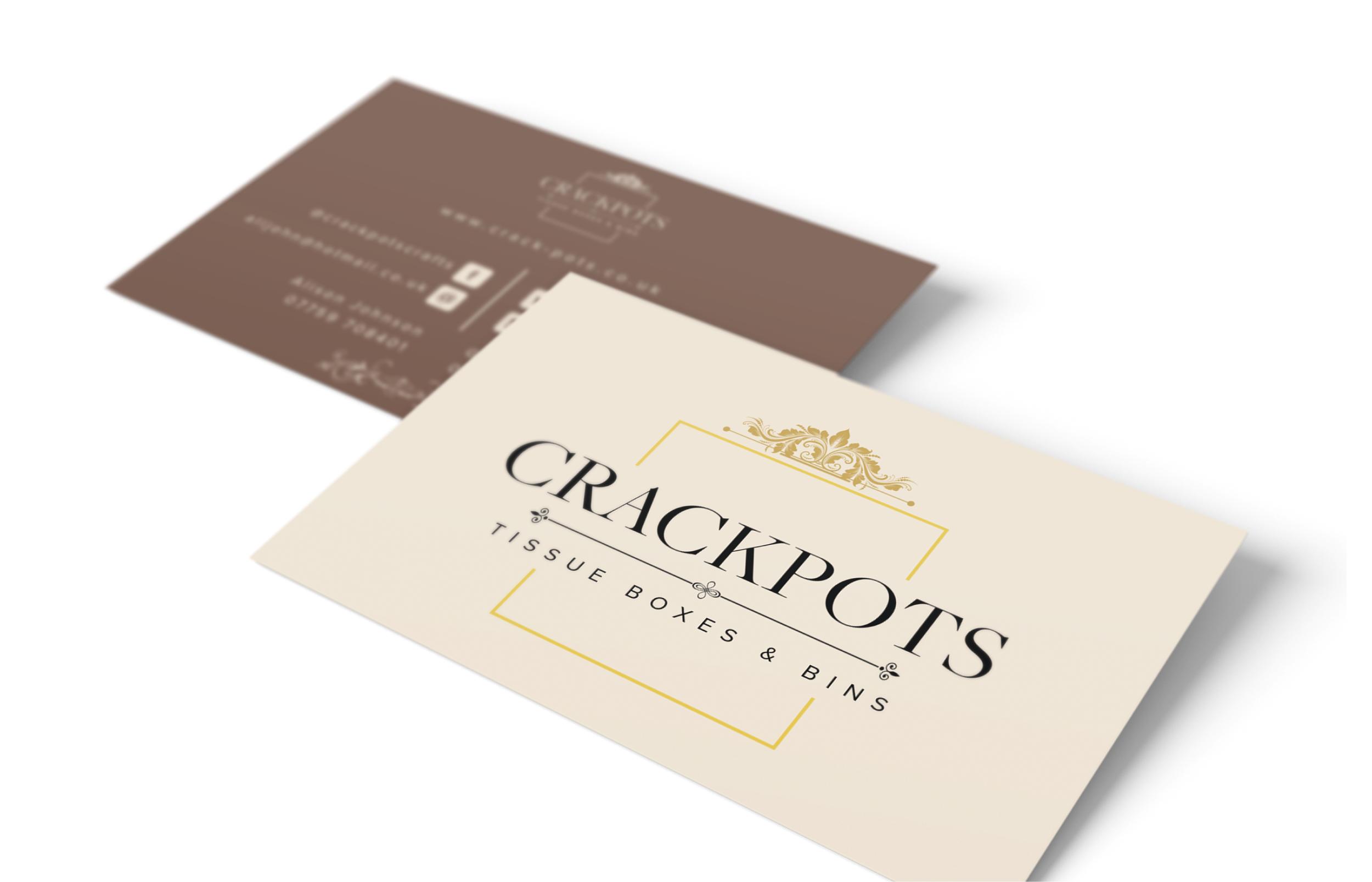 Crackpots Business Card Design