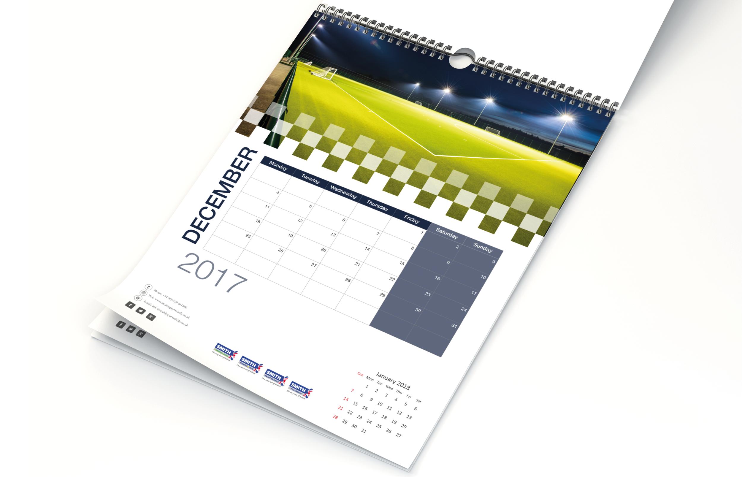Wall Hanging Calendar Design