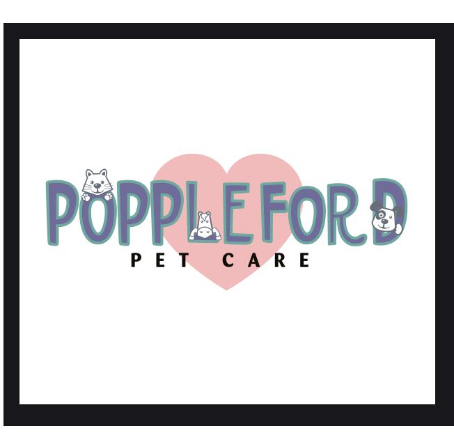 Poppleford Pet Care Logo Design