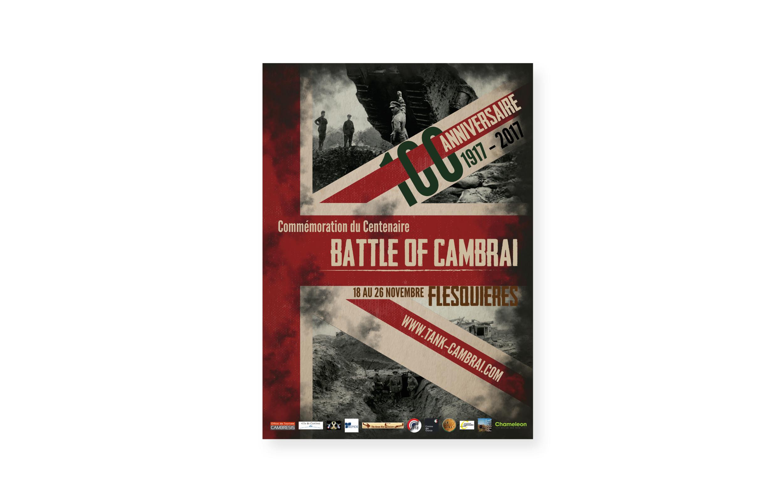 Battle of Cambrai - Centenary Poster Design