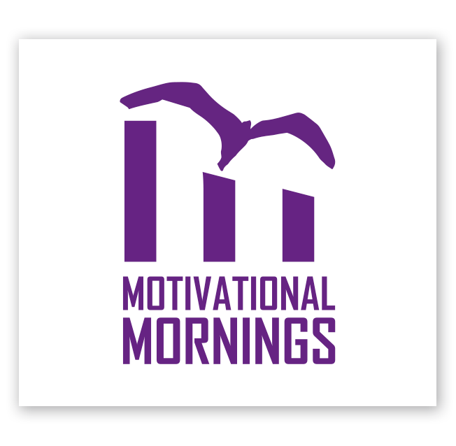 Motivational Morning Logo Design for Freedom Factory