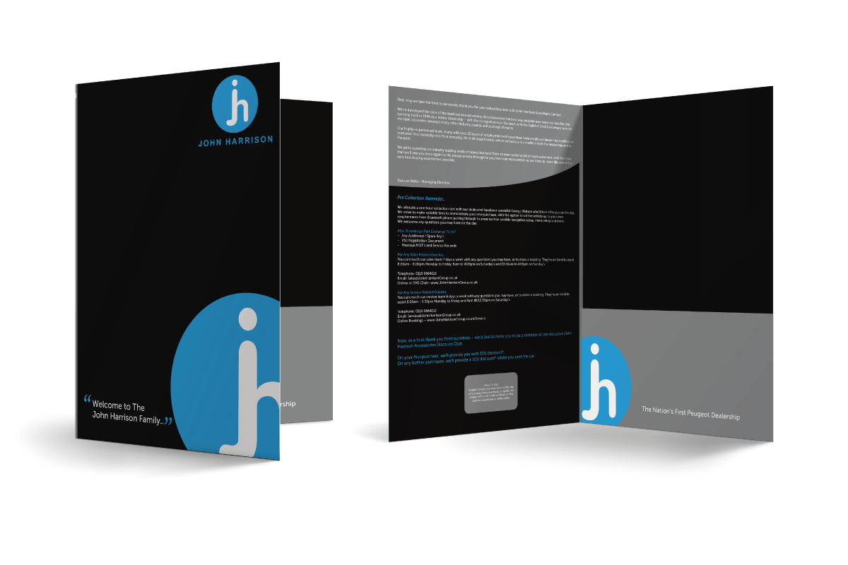 We can print any quantity of folders at any size and with a gusset of any depth. Folders play a huge part in printed marketing solutions as they are the first thing that your customer will see when presenting your marketing material. Folders are a great way to keep all your items together.