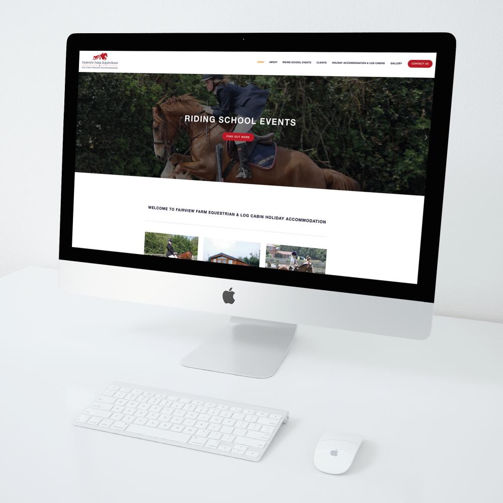 Fairview Farm Equestrian Website Design