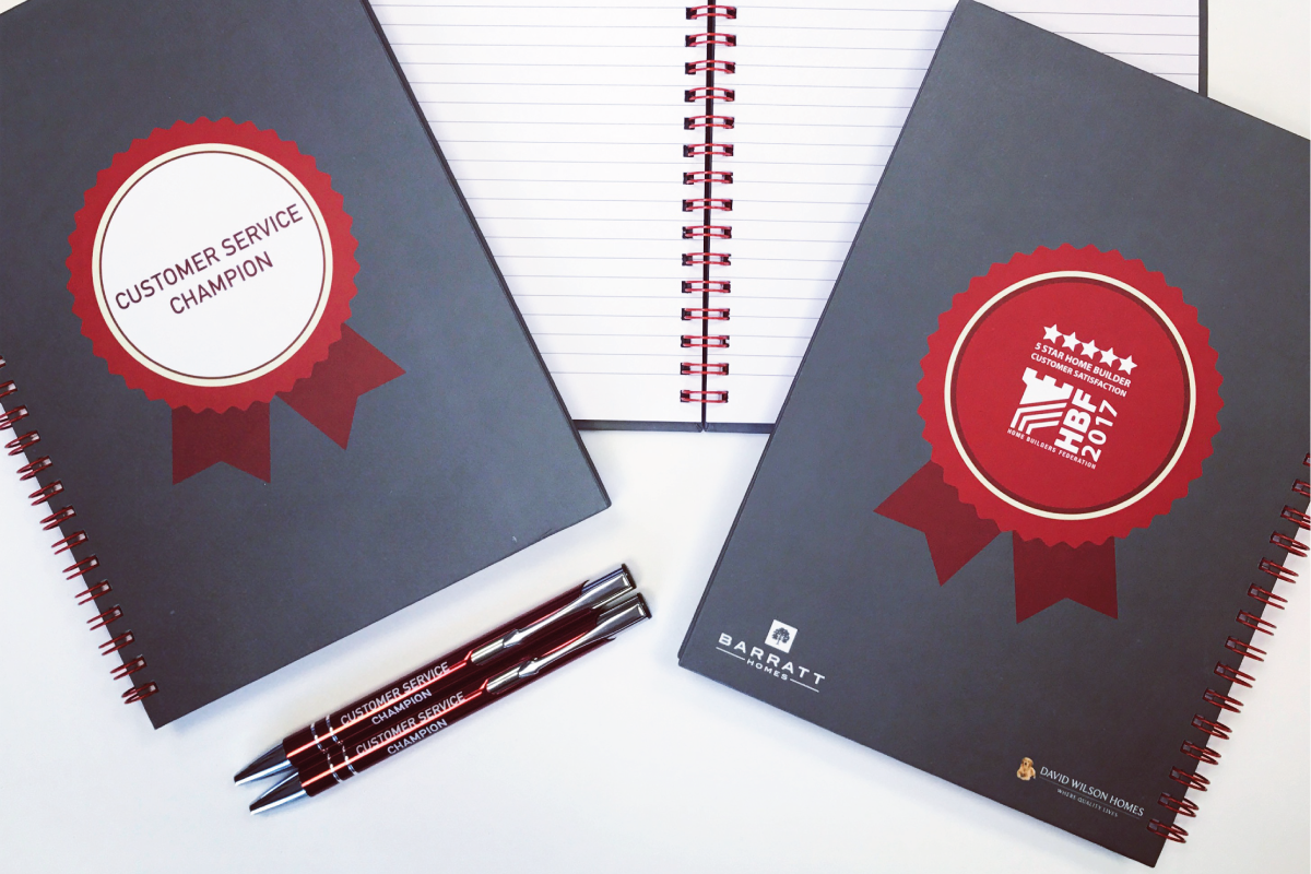 Wiro Bound Items are a popular piece of print due to the versatility of them. Popular Wiro-Bound items include Notebooks, Journals, Brochures and Dissertations.