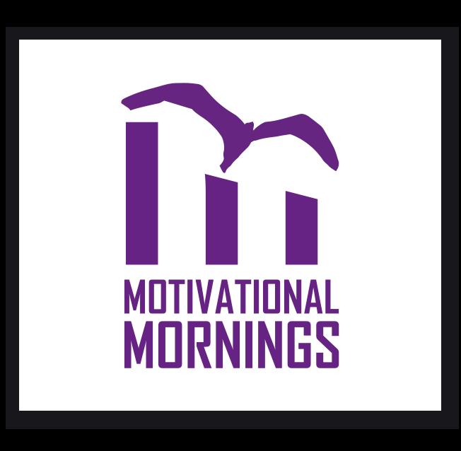Motivational Mornings Logo Design