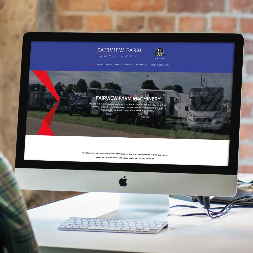 Fairview Farm Machinery Website Design