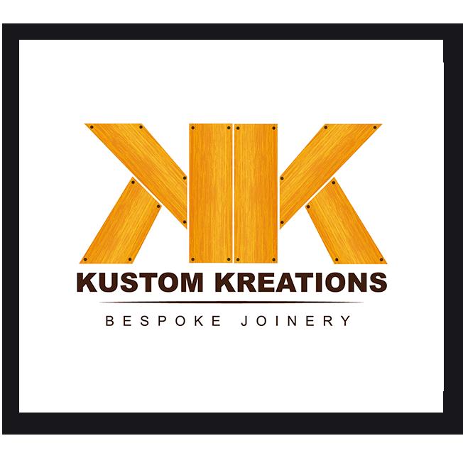 Kustom Kreations Bespoke Joinery Logo Design