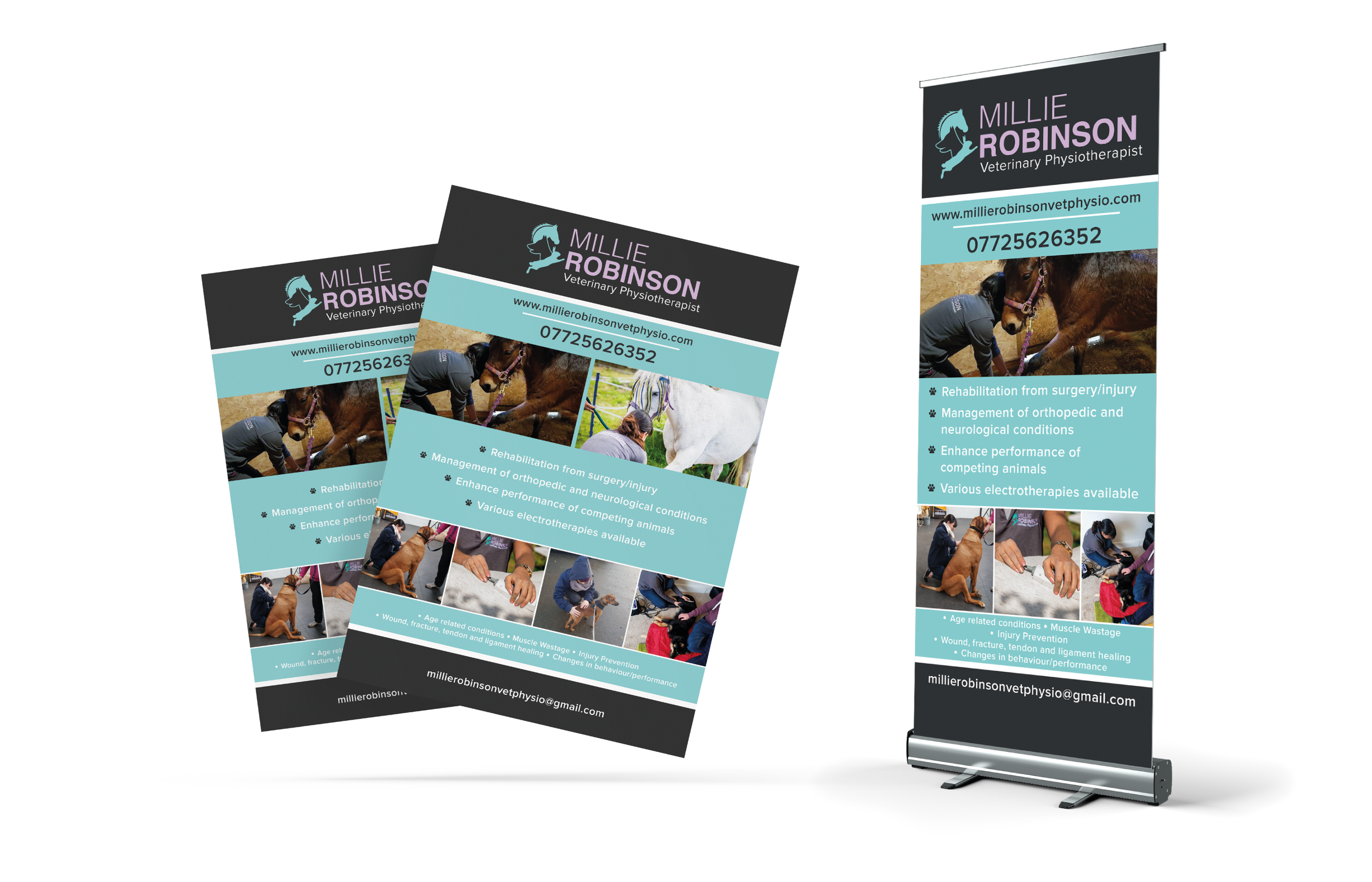 Millie Robinson Event Material Design and Print