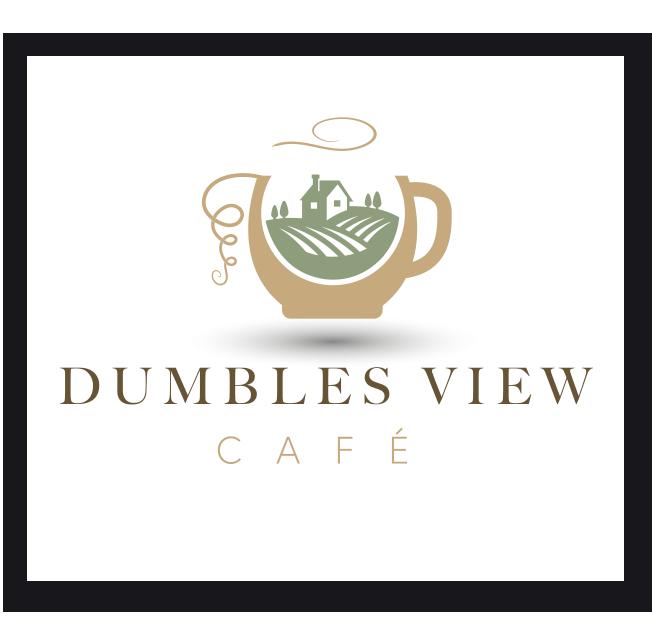 Dumbles View Cafe Logo Design