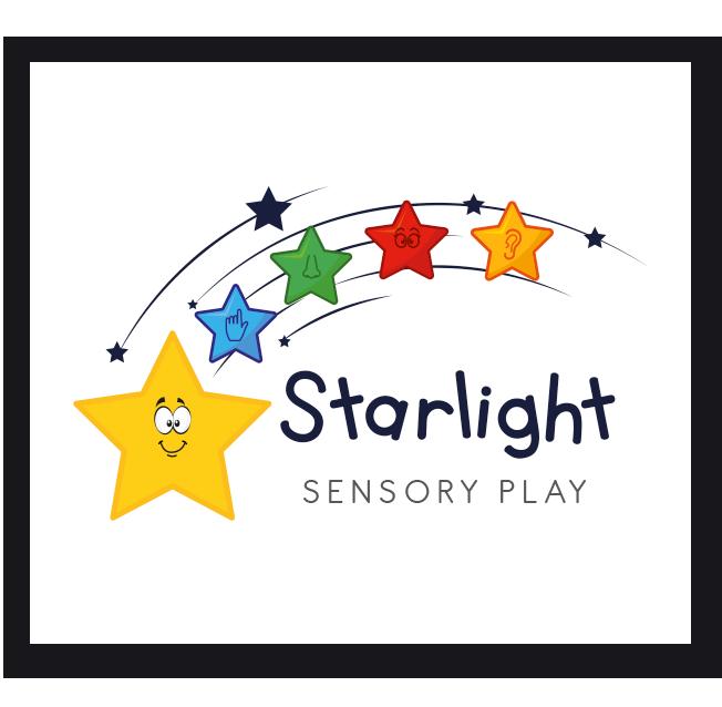 Starlight Sensory Play Logo Design