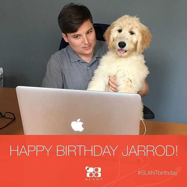 Forget cake and ice cream, this birthday boy deserves Chipotle and champagne! Happy birthday to our favorite doodle-dad, @jarrodwiggins! Thanks for always being down to lend a helping hand (with work and with the extra candy laying around the office 😉)! . . . #AgencyLife #Marketing #Branding #GreenvilleSC #CharlestonSC