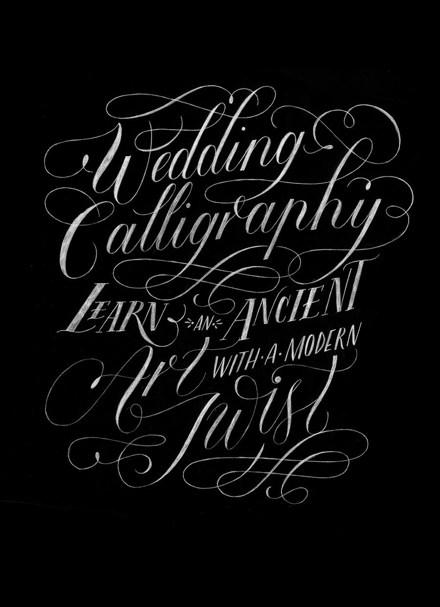 Wedding Calligraphy Workshop | Grand Rapids
