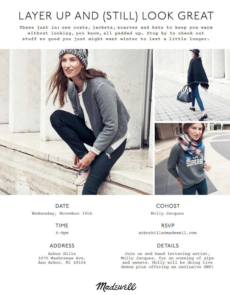 Molly Jacques + Madewell