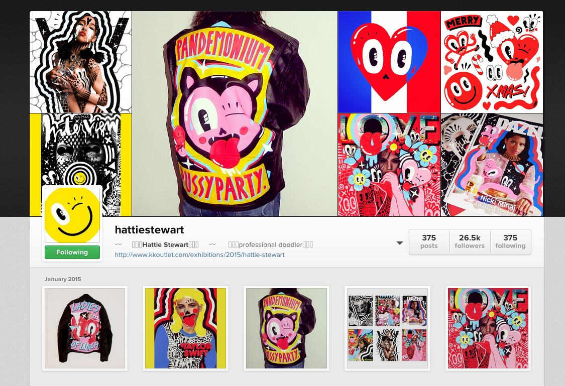 Hattie Stewart via Instagram
