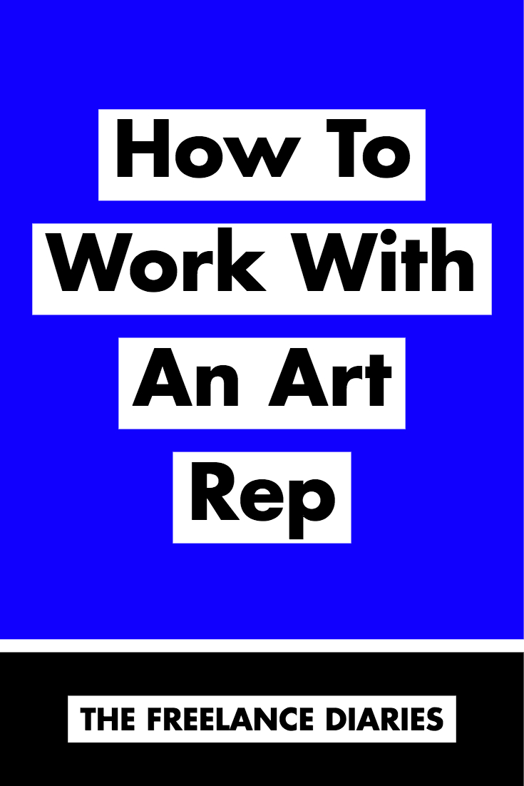 How To Work With An Art Rep: @mollyjacques