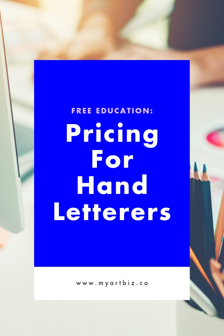 Pricing and Negotiation for Letterers
