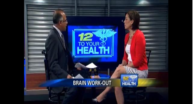 Dr. Green Talks  Brain Fitness on News 12 NJ.