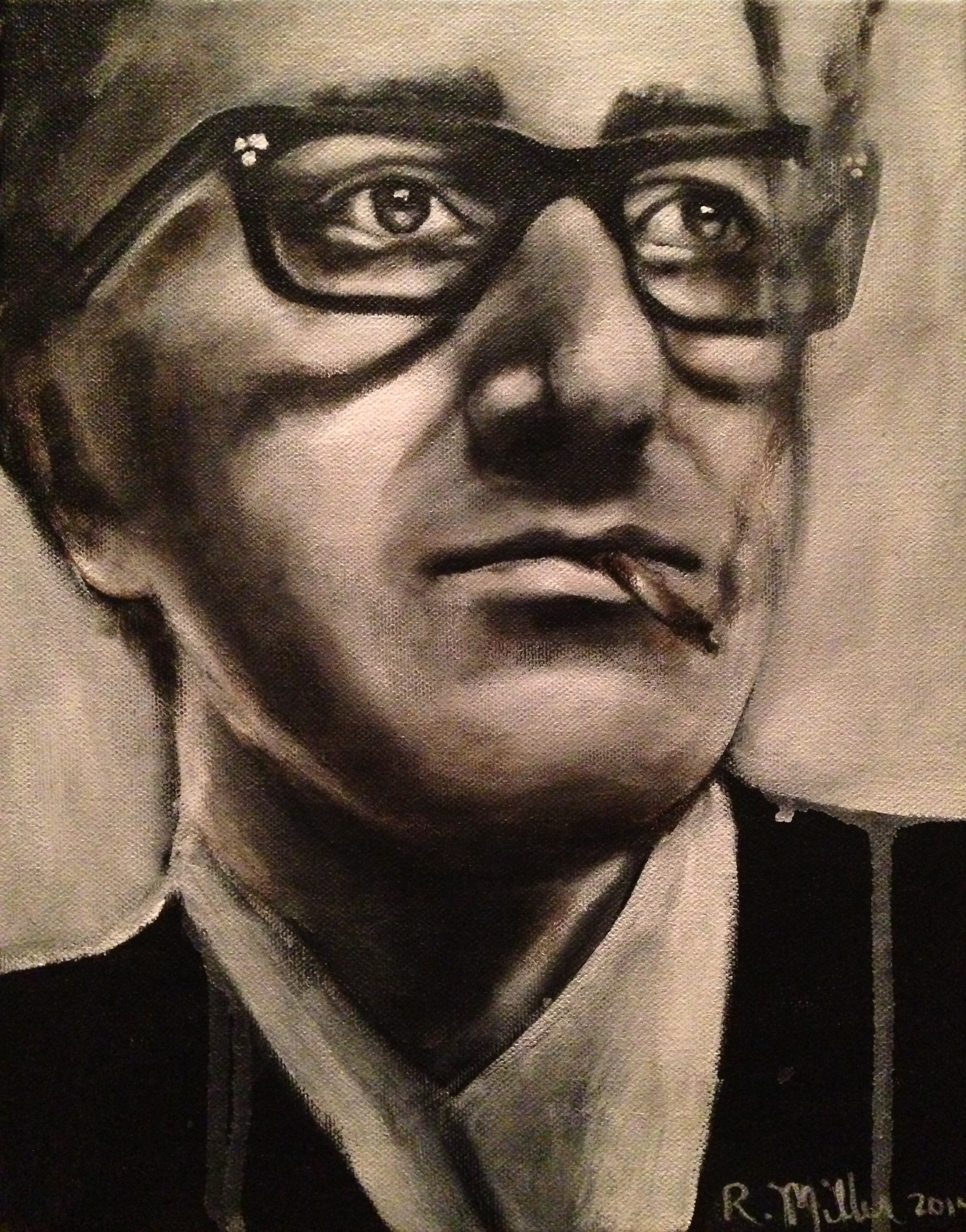 Stoner Peter Sellers, 2014   Acrylic & oil on canvas