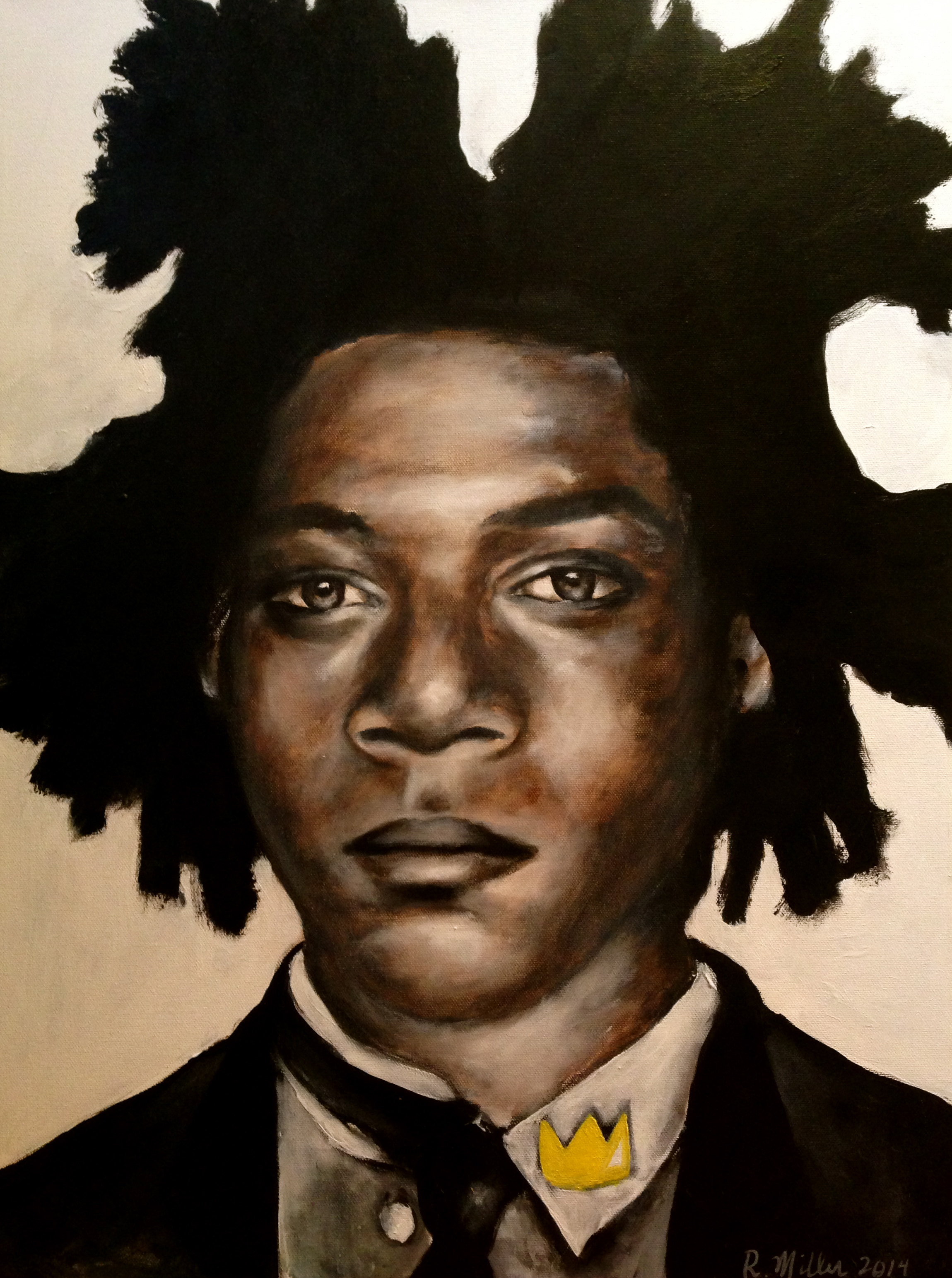 Jean-Michele Basquiat, 2014   Acrylic & Oil on canvas
