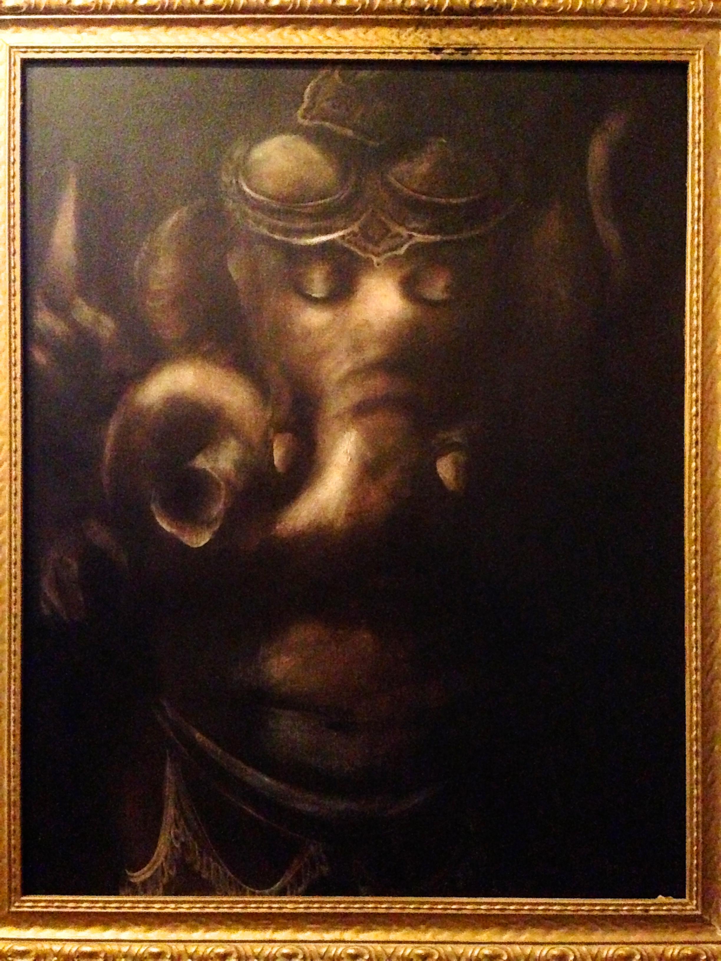 Ganesh, 2015 Hindu God of Wisdom   Acrylic & oil on canvas