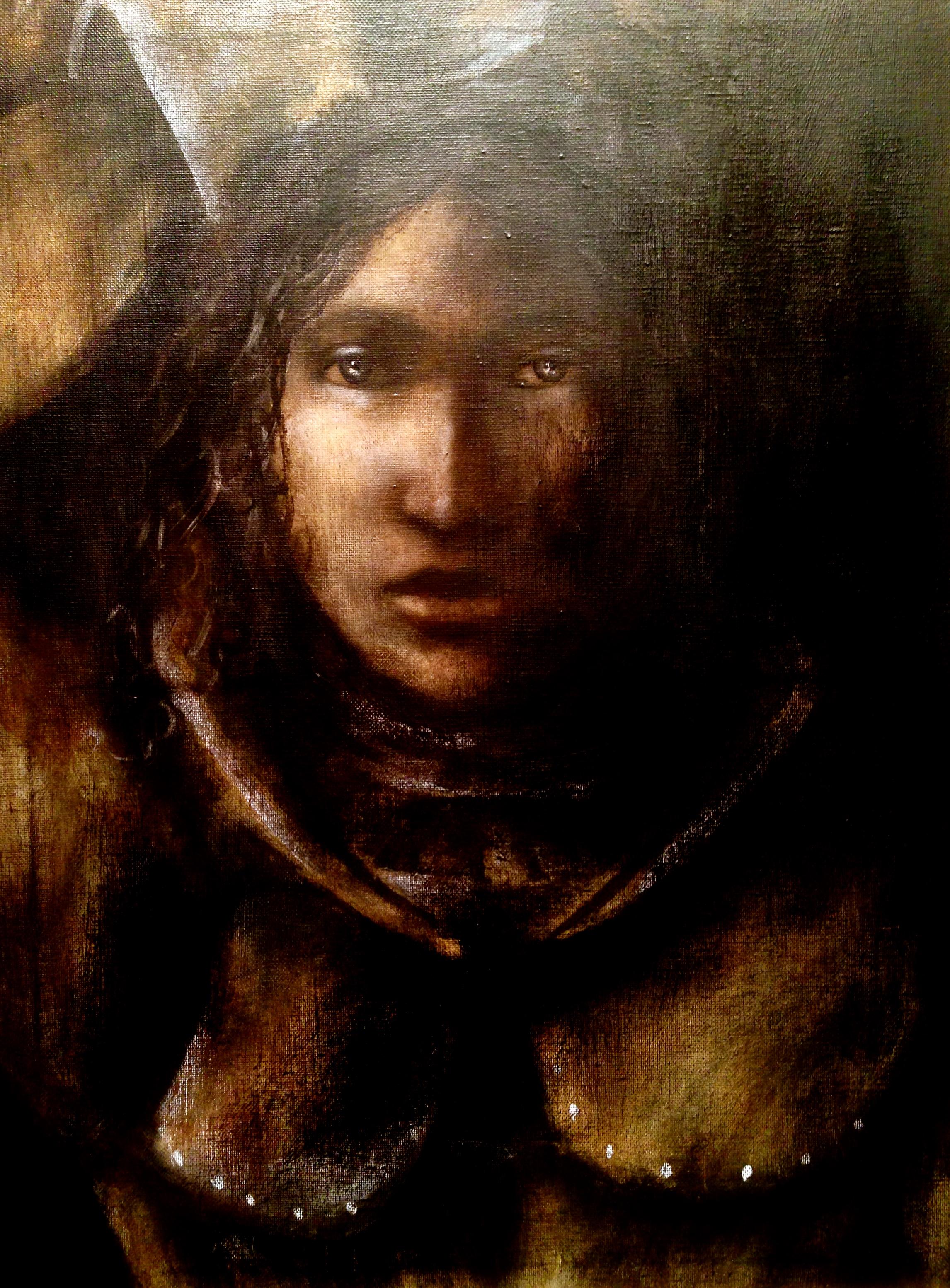 Joan of Arc 20.15, 2015   Acrylic & oil on canvas