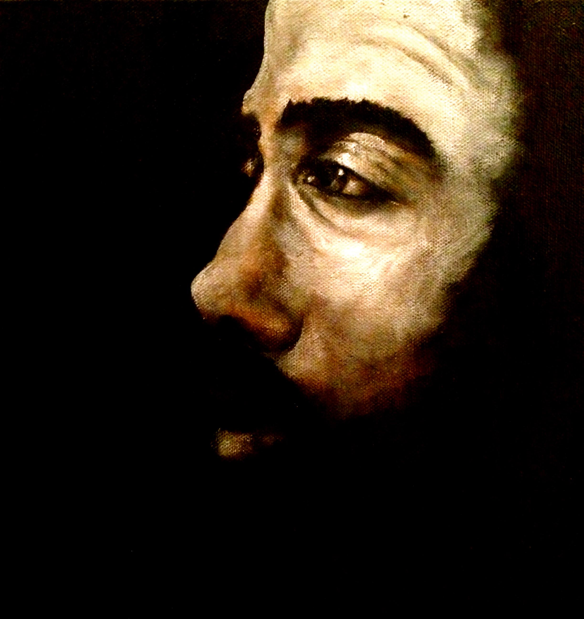 Stoic Man, 2015   Acrylic on canvas