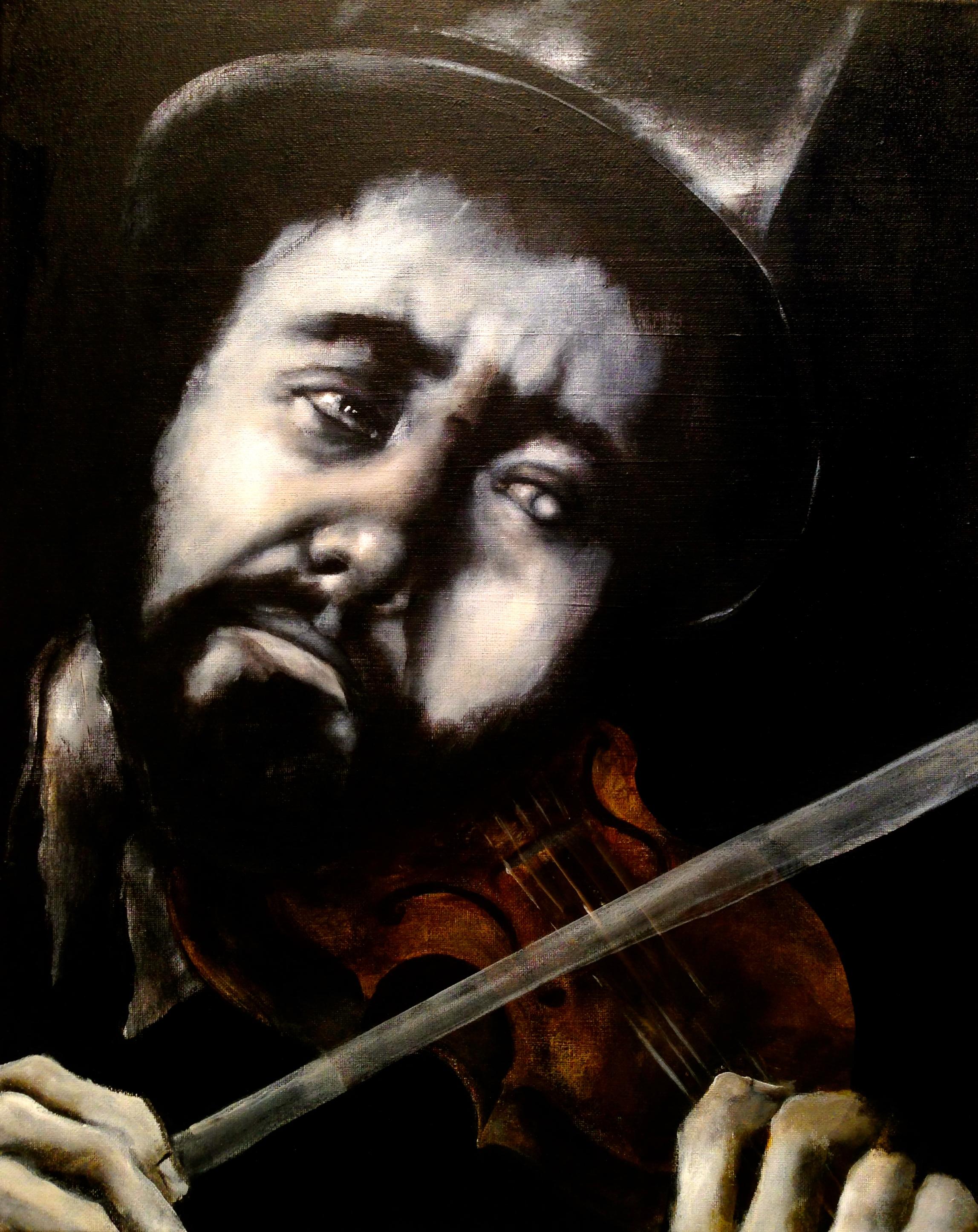 Silent Concerto, 2015   Acrylic on canvas