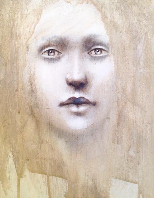 Ethereal, 2016   Acrylic, oil, texture medium on canvas