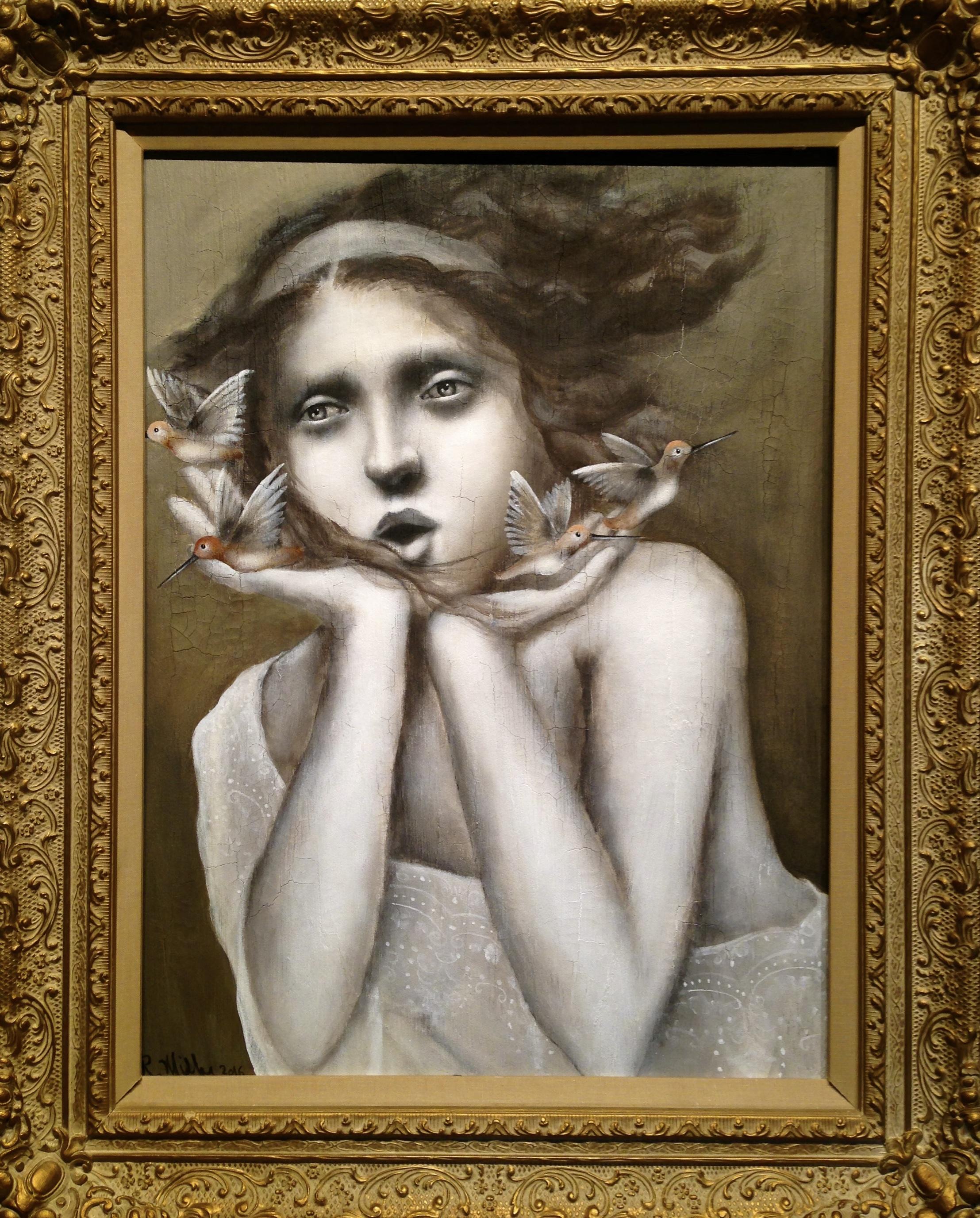 Essencential, 2016   Acrylic, oil, texture medium on canvas