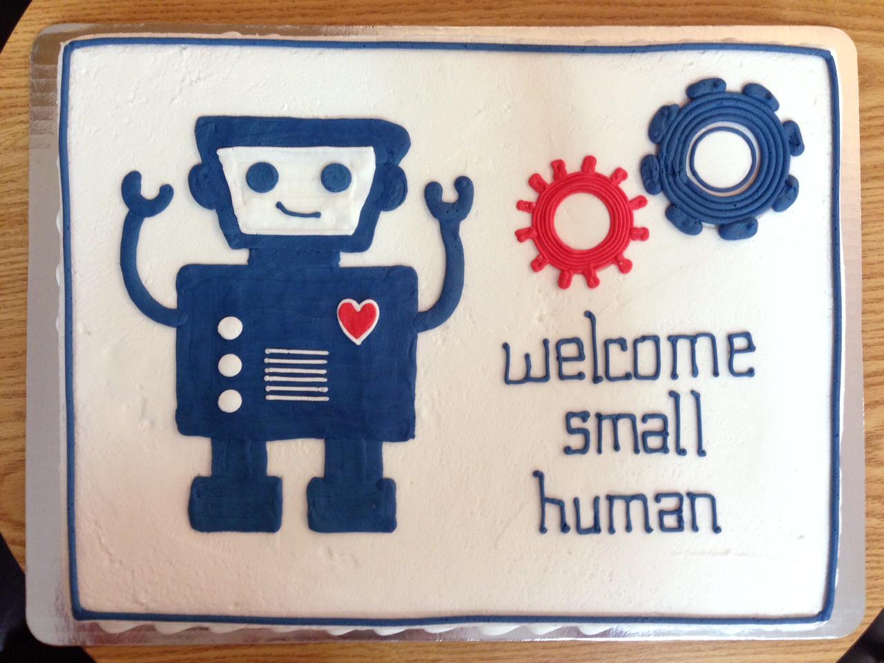 Welcome Small Human