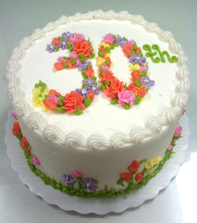 Numbers in Flowers 30