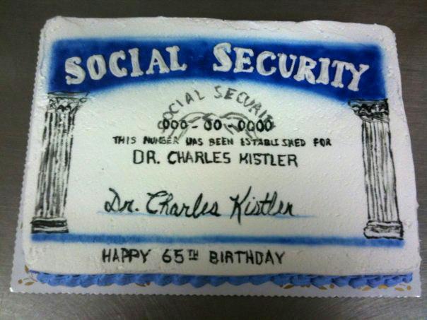 Social Security Card - Retirement