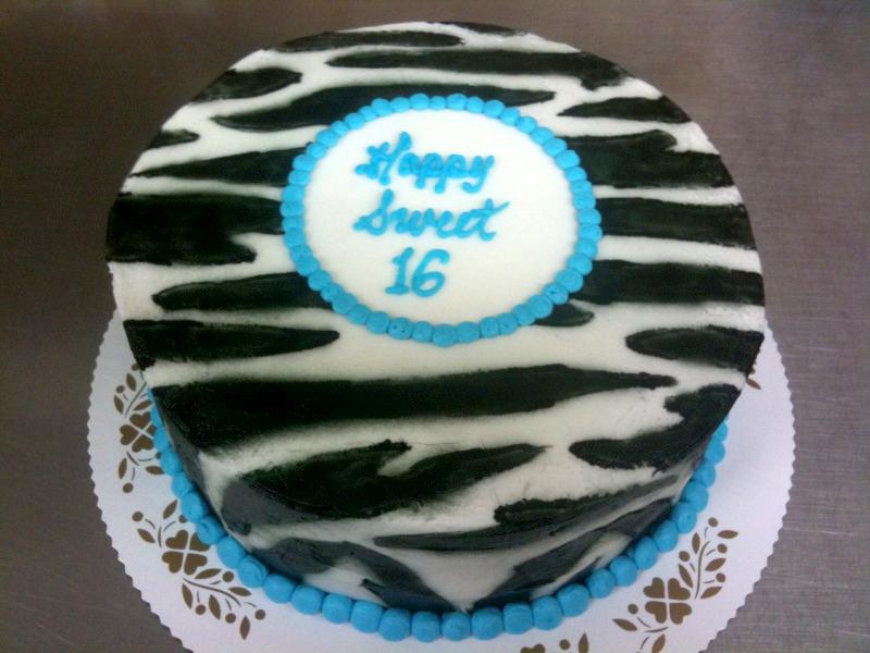 Airbrushed Zebra