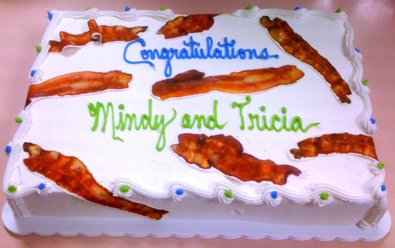 Bacon Strips (edible Image)