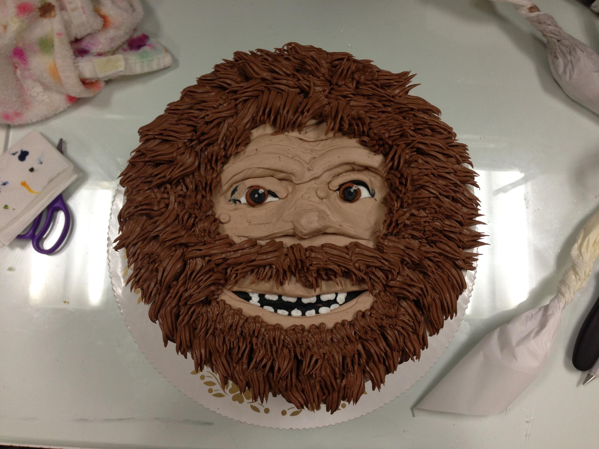 Caveman/Bigfoot Face