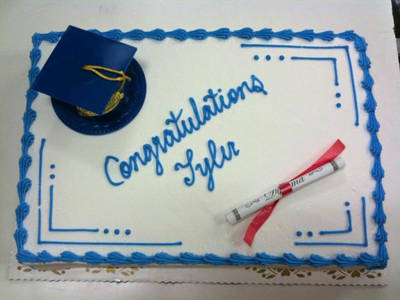 Simple Grad Cap & Diploma