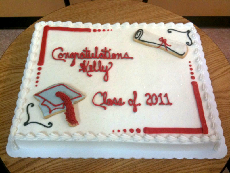 Graduation Cookie Decor