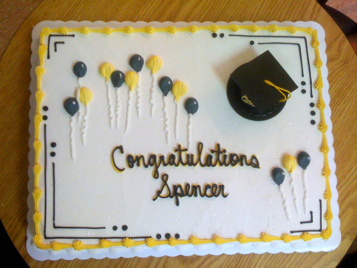 Grad Cap & Balloons