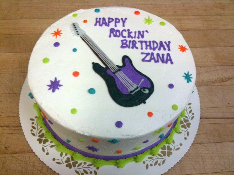 Rocking Birthday Guitar