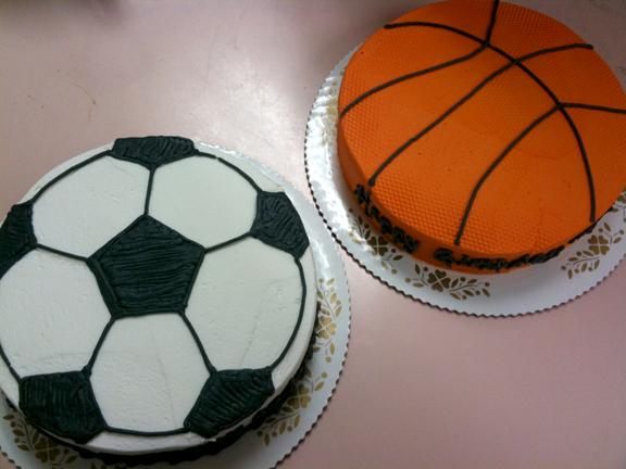 Sports Balls (Basketball, Soccer, Baseball)