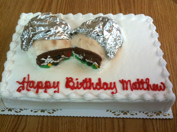 Burrito Cake on Cake!